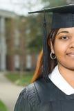 Female graduate Stock Image