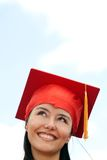 Female graduate Royalty Free Stock Image