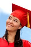 Female graduate portrait Stock Photo