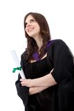 Female graduate portrait Stock Photos