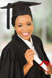 Female graduate potrait Stock Photos