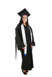 Female graduate smiling Royalty Free Stock Photos