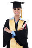Female Graduate Royalty Free Stock Photos