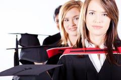 Female graduates Stock Photography