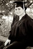 Female Graduating royalty free stock photos