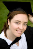 Female graduating Royalty Free Stock Photo
