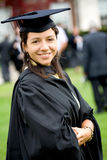 Female graduating Stock Photos