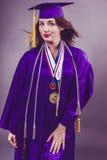 Female Graduation Stock Photos