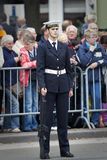 Female guard Stock Images