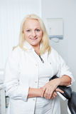 Female gynecologist in her office Royalty Free Stock Photography