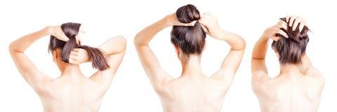 Female hair Royalty Free Stock Photo