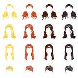 Female hair stock illustration