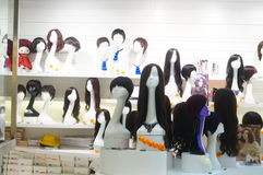 Female hair model Stock Photos
