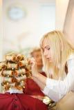 Female hairdresser Royalty Free Stock Photo