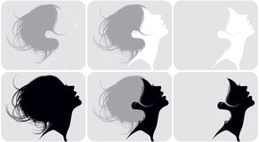Female hairdresses Royalty Free Stock Photo