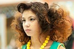 Female hairstyle Stock Photo