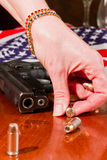 Second amendment concept Royalty Free Stock Image