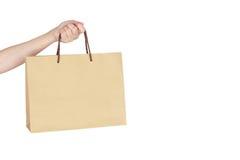 Free Female Hand Holding Shopping Bag Stock Images - 75651954