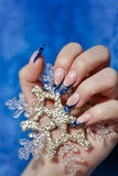 Female hand with manicure Royalty Free Stock Images