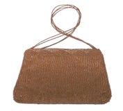 Female handbag of beads Stock Images