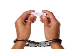 Prison pregnancy Stock Image