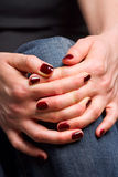 Female hands Stock Photos