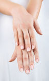 Female hands Royalty Free Stock Photo