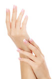 Female hands Royalty Free Stock Image