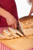 Sandwich bread Royalty Free Stock Photos