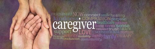 Caregivers Word Cloud
