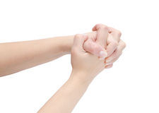 Female hands Royalty Free Stock Photography