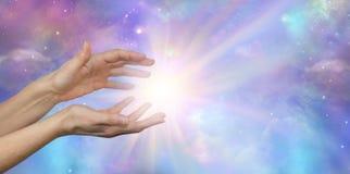 Lightworker with Beautiful Cosmic Energy