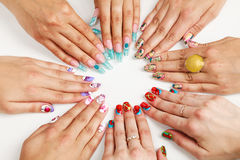 Female hands Royalty Free Stock Images