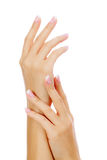 Female hands Stock Photos