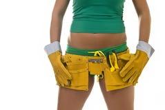 Female Hard Worker Royalty Free Stock Image