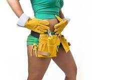 Female Hard Worker Royalty Free Stock Photos