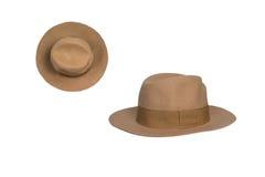 Female hat  on white Stock Image