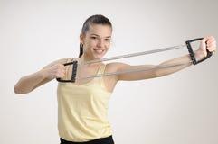 Female having healthy lifestyle Royalty Free Stock Photo