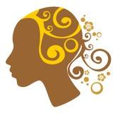 Female head Stock Image