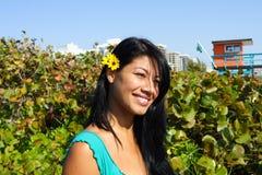 Female Headshot Stock Image