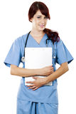 Female Health Care Worker Royalty Free Stock Photography