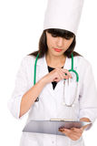Female health care worker Royalty Free Stock Image
