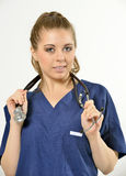 Female Healthcare Professional Royalty Free Stock Photo