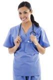 Female healthcare worker Stock Photo