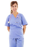 Female healthcare worker Stock Photo