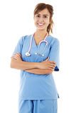 Female Healthcare Worker Royalty Free Stock Photos