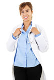 Female healthcare worker Stock Image