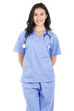 Female healthcare worker Royalty Free Stock Photography