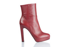 Female high heel boot Royalty Free Stock Photography