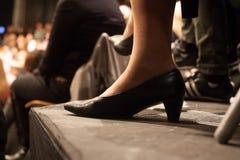 Female high heel shoe Stock Photo